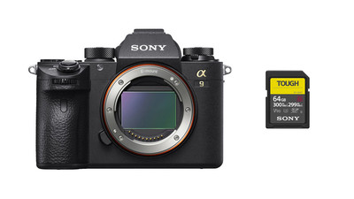 Sony Alpha a9 Mirrorless Digital Camera Body & SF-G Tough Series 64GB SDXC Memory Card