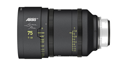 ARRI 75mm Signature Prime T1.8 - LPL Mount