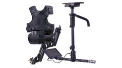 "Steadicam AERO Sled with 7"" Monitor + A-15 Arm + SOLO Vest + Gold Mount Battery Plate"