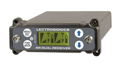 Lectrosonics SRc Dual Channel Slot-Mount Receiver - Block A1 (470.100 - 537.575 MHz)