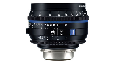 ZEISS CP.3 15mm Compact Prime T2.9 - Metric, EF Mount