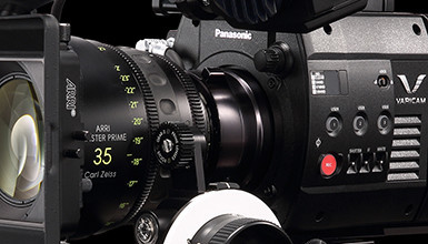 Intro image for article VariCam 35 & HS Accessory Guide