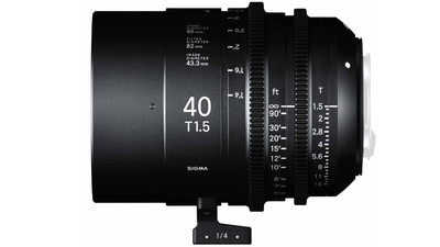 Sigma 40mm T1.5 FF High Speed Prime - Imperial, EF Mount