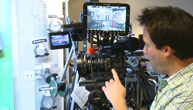 Intro image for article At the Bench: C500 & Odyssey7Q 4K Raw/HD Recording
