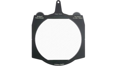 Lindsey Optics Brilliant2 Rota-Streak CLEAR 3mm Filter - 4 x 5.65