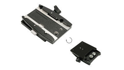 Miller QR Adapter Plate for Solopod & Flat Base Mounting