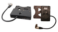 Cameo VESA Monitor Battery Mount - Choose Gold or V-Mount