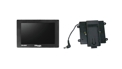 "AbelCine TVLogic 5.6"" High-Resolution Compact LCD Monitor & Sony Battery Bracket Kit"