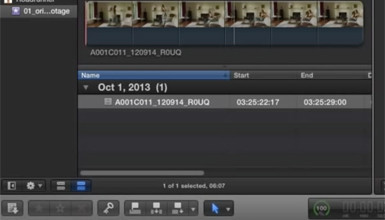 Intro image for article Viewing ALEXA Log C Footage in Final Cut Pro X