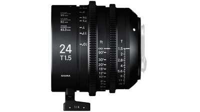 Sigma 24mm T1.5 FF High Speed Prime - Imperial, EF Mount