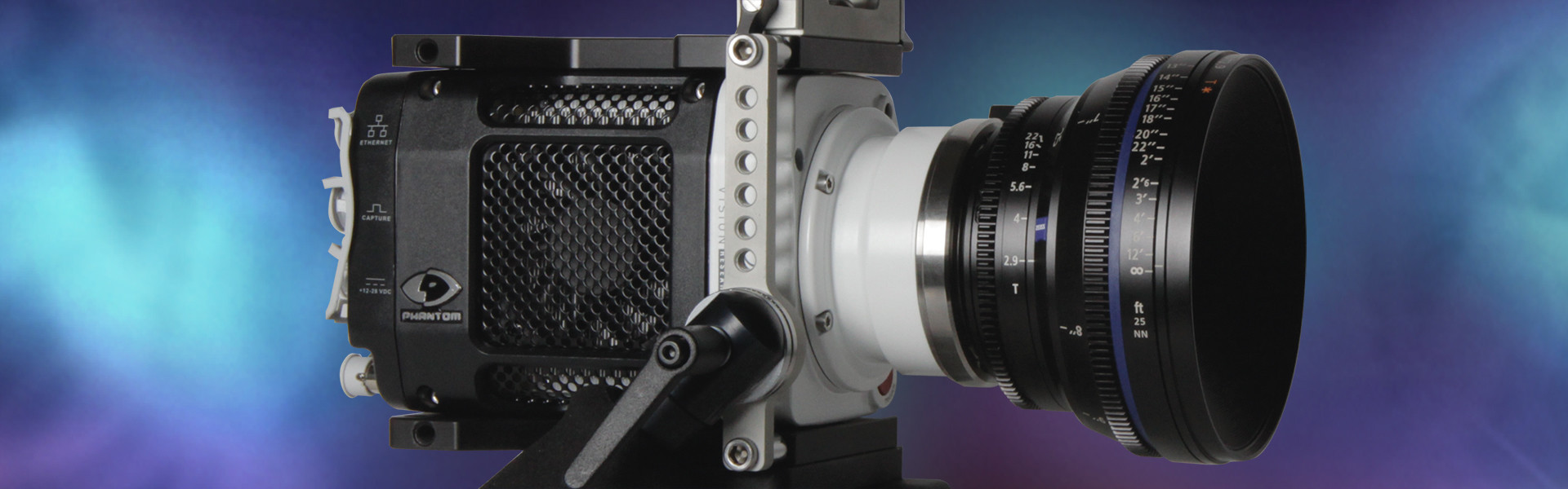"Header image for article AbelCine and Vision Research Announce The ""Miro High-Speed Inspiration Challenge"""