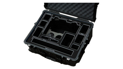 Jason Cases ARRI AMIRA Case - Wheeled, Black Overlay
