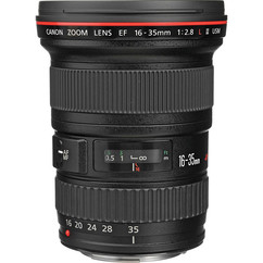 Canon 16-35mm f/4 L-Series IS USM Zoom Lens - EF Mount