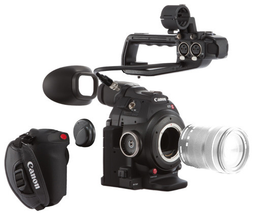 Canon Cinema EOS C100 Mark II Camera & EF-S 18-135mm STM