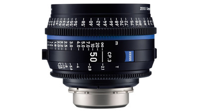 ZEISS CP.3 50mm Compact Prime T2.1 - Imperial, PL Mount