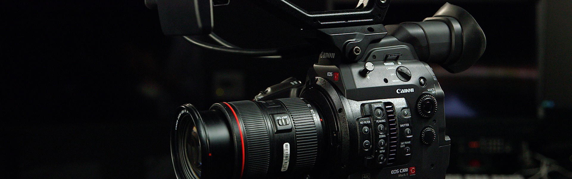 Header image for article An In-Depth Tour of the Canon C300 Mark II
