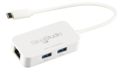 SlingStudio USB-C Expander USB and Ethernet Combo Hub