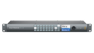 Blackmagic Design 6G-SDI Smart Videohub 20x20