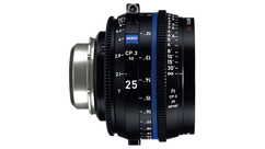 ZEISS CP.3 XD 25mm eXtended Data Compact Prime T2.1 - Imperial, PL Mount