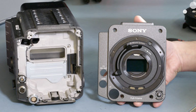 Intro image for article At the Bench: The Modularity of the Sony VENICE