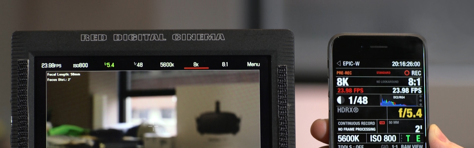 Header image for article First Look: Spotlight on the RED EPIC-W