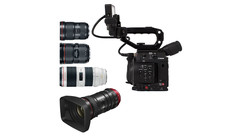 Canon EOS C200 Triple Lens Kit with Compact-Servo 18-80mm