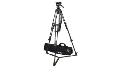 Miller 1827 Compass 15 Toggle 2-Stage Alloy Tripod System - 75mm Ball