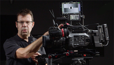 Intro image for article At the Bench: Sony FS7 Rigging Options