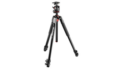Manfrotto MK055XPRO3-BHQ2 Aluminum Tripod with XPRO Ball Head and 200PL Quick Release Plate