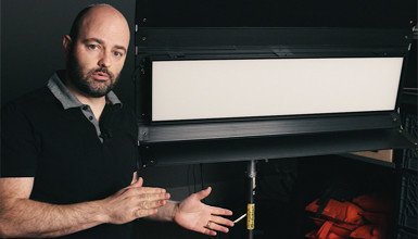 Intro image for article At the Bench with Jem Schofield: Kino Flo Select 30 LED System