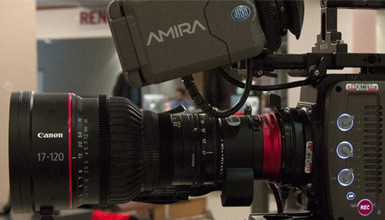 Intro image for article Now Available in AbelCine Rental: AMIRA & Canon 17-120 Cine-Servo