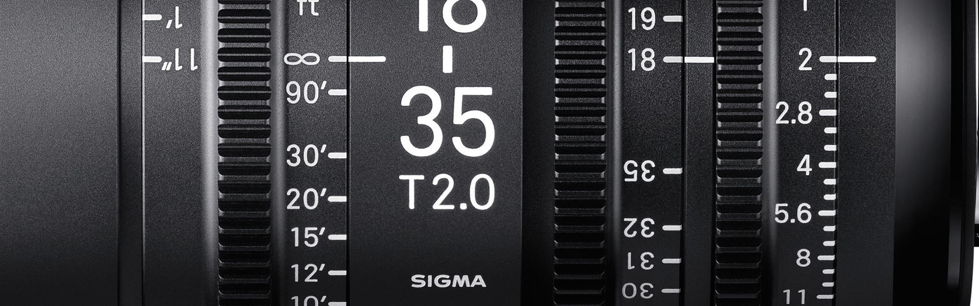 Header image for article Explore the Latest Sigma Cine Lineup