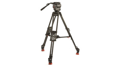 OConnor 1030DS Fluid Head & 30L Tripod System - 100mm Ball
