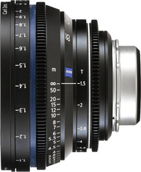ZEISS 50mm T1.5 CP.2 T* Super Speed Compact Prime - Imperial, PL Mount