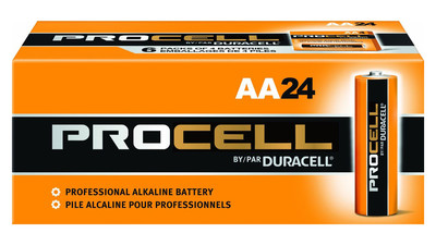 Duracell Procell AA 1.5V Alkaline Battery (24-Pack)