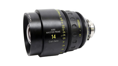 ARRI / ZEISS 14mm Master Prime LDS T1.3 - PL Mount