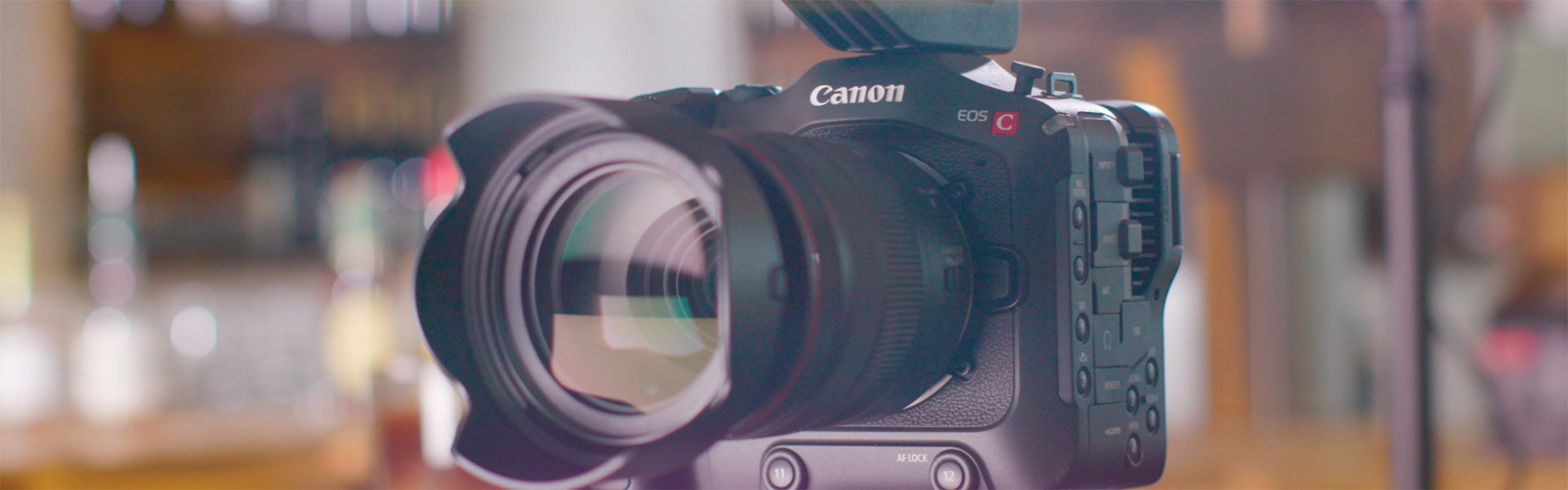 Header image for article First Look: Canon EOS C70 Digital Cinema Camera