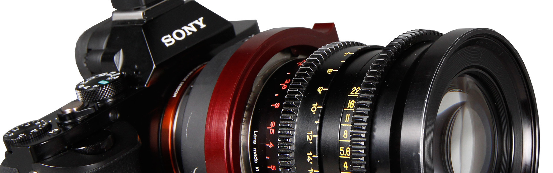 Header image for article Lenses & Accessories for the Sony a7S