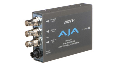 AJA HD10AVA Analog Video & Audio to SD/HD-SDI Converter