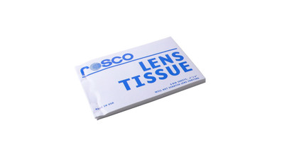 "Rosco Lens Tissue - 4"" x 6"" Booklet (100 sheets/booklet)"