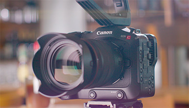 Intro image for article First Look: Canon EOS C70 Digital Cinema Camera