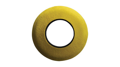 Bluestar Round Large Microfiber Viewfinder Eyecushion - Yellow