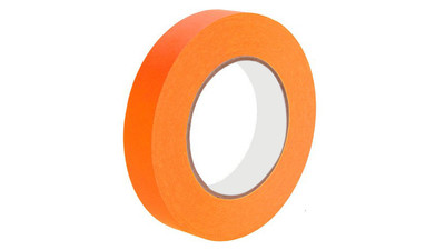 "Paper Tape - 1"", Fluorescent Orange"