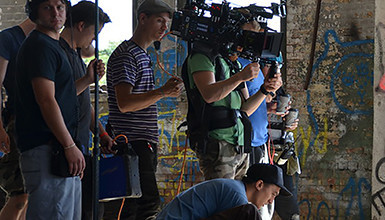 "Intro image for article DP Steve Holleran Goes Handheld & Anamorphic for ""The Land"""