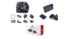Canon EOS C200B (Camera Body Only) with Accessory Kit + Atomos Ninja Flame & Power Kit Bundle - EF Mount