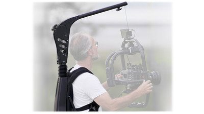 Easyrig Vario 5 with STABIL Arm & Gimbal Rig Vest (Small)