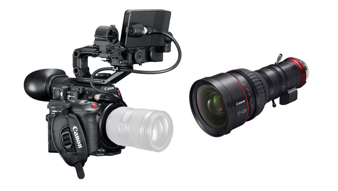 Canon C200 Camera with EF Mount & 17-120mm CINE