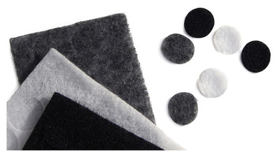 Rycote Undercovers - Black, Grey, White (30 Pack with Stickies)