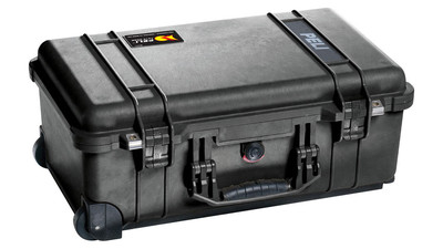 Pelican 1510 Carry-On Case without Foam - Black