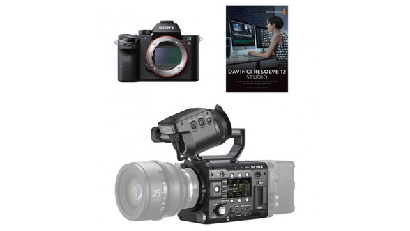 Sony PMW-F5 & A7S Mark II Camera Production Crew Bundle with